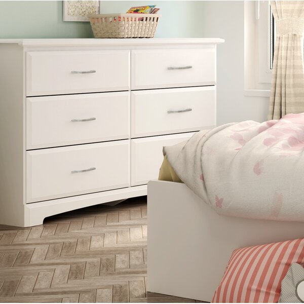 Callesto 6-Drawer Double Dresser by South Shore