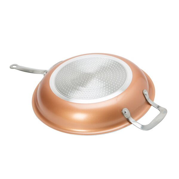 12 Copper Non-Stick Frying Pan by Kitchen Details