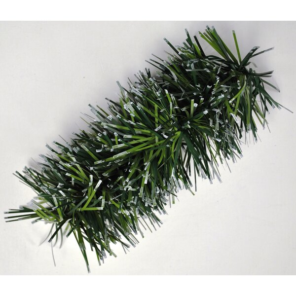 Snow Tipped Natural Looking Garland by Queens of Christmas