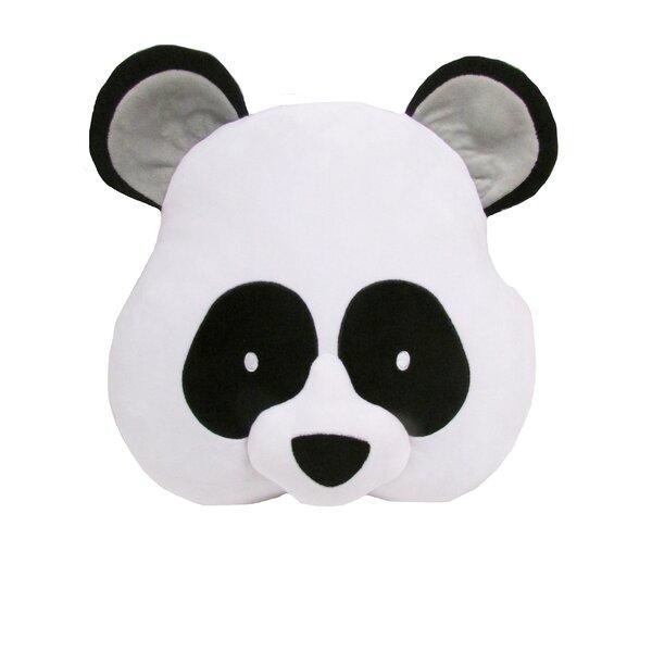 Kalia Panda Throw Pillow by Zoomie Kids