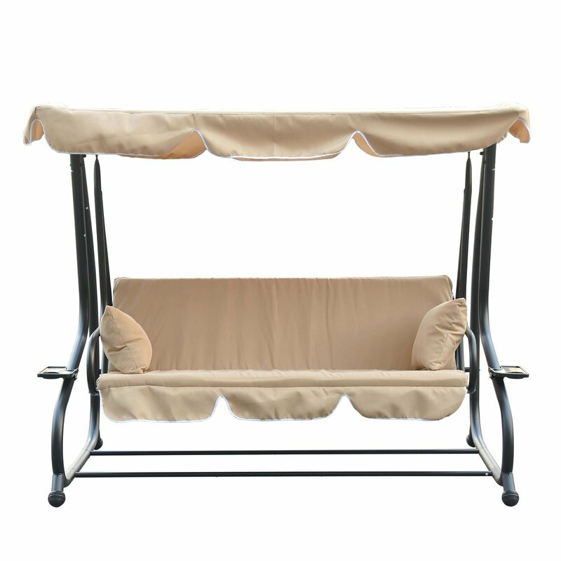 Brunell Porch Swing With Stand
