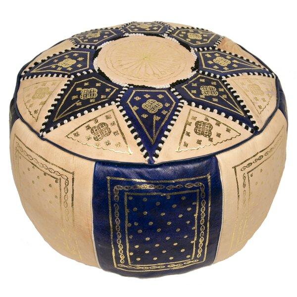 Casablanca Market Leather Ottomans