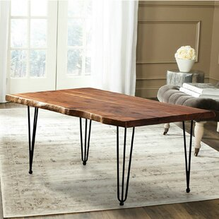 Mathilda North American Hairclip Legs Coffee Table with Tray Top