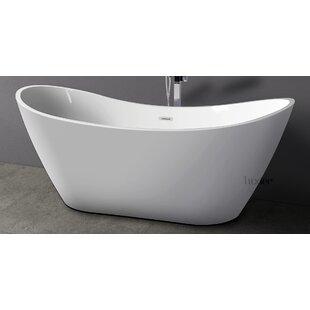 Find for Luxury 30 x 70 Freestanding Soaking Bathtub ByLuxier