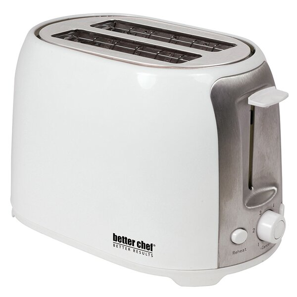 2 Slice Cool Touch Wide-Slot Toaster by Better Chef