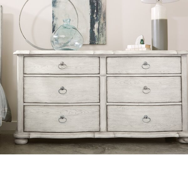 Mauricio 6 Drawer Double Dresser by Ophelia & Co.