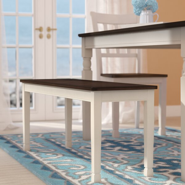 Magellan Wood Bench by Beachcrest Home