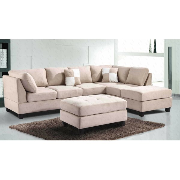 #2 Bruns Sectional By Winston Porter 2019 Sale