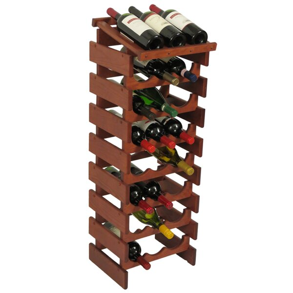 Dakota 24 Bottle Floor Wine Rack by Wooden Mallet