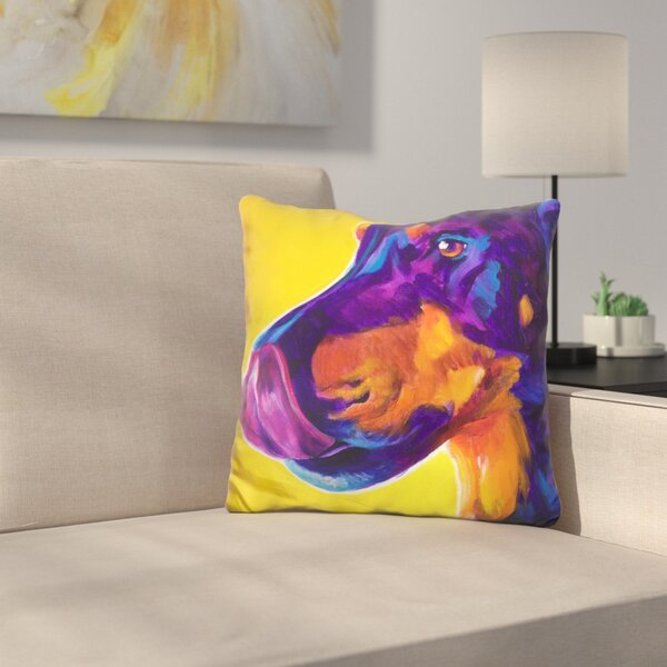 Darcy Throw Pillow by East Urban Home