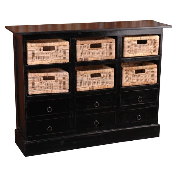 Review Tompkins 6 Drawer Combo Dresser