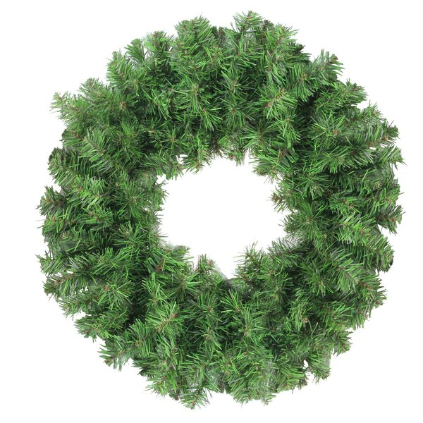 Colorado Artificial Christmas 16 Spruce Wreath by The Holiday Aisle