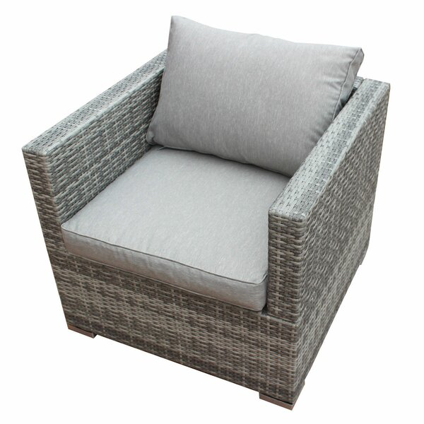 Khalid Patio Chair with Cushion by Orren Ellis