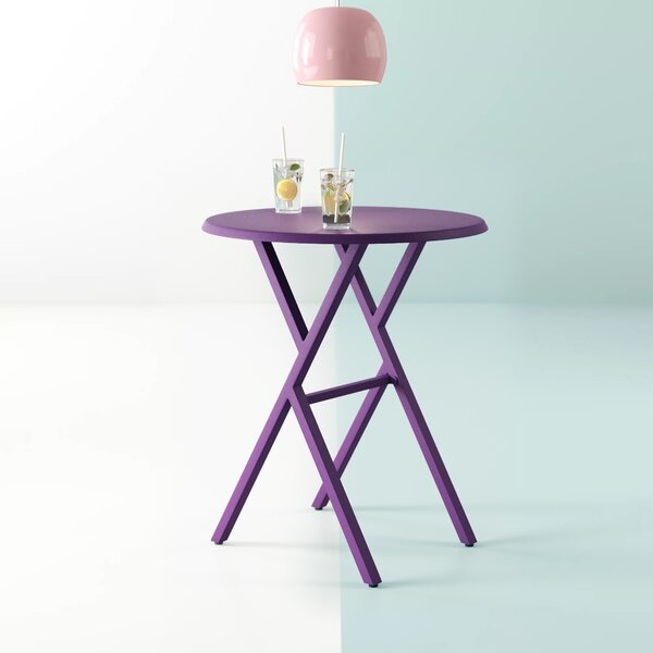 Alondra Iron Bistro Table by Hashtag Home