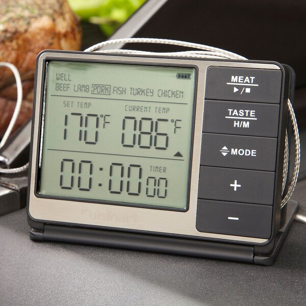 Digital Grilling Thermometer and Timer by Cuisinart