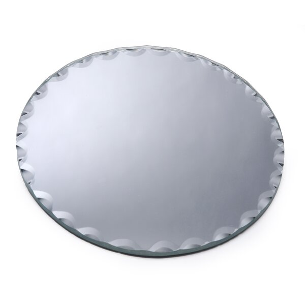 Wilmoth Scalloped Edge Round Accent Mirror (Set of 6) by House of Hampton