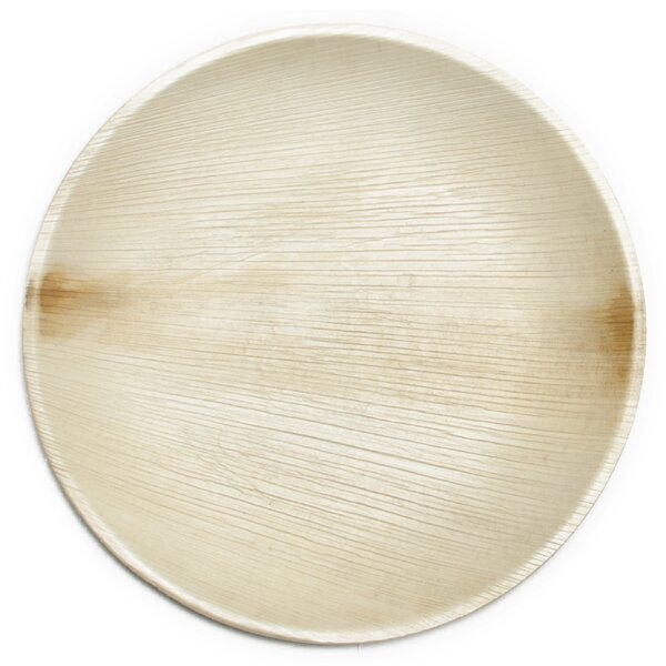 9 All Natural Palm Leaf Dinner Plate (Set of 25) by Leaf & Fiber