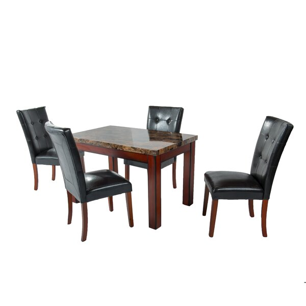 Arness 5 Piece Dining Set by Red Barrel Studio