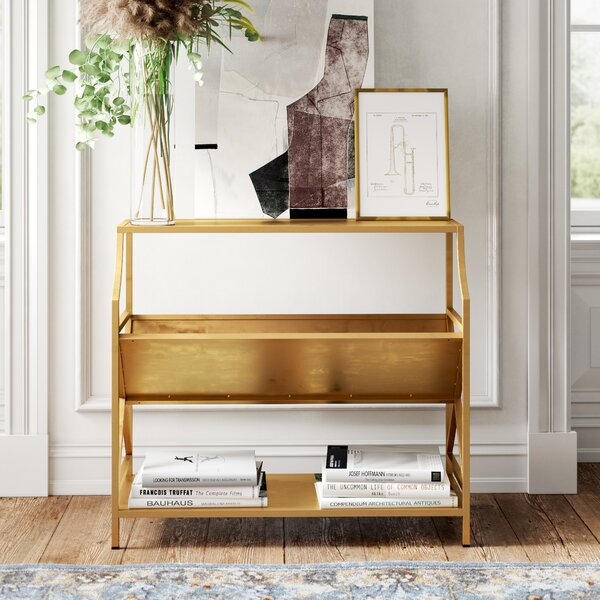 Acklen Standard Library Bookcase By Kelly Clarkson Home