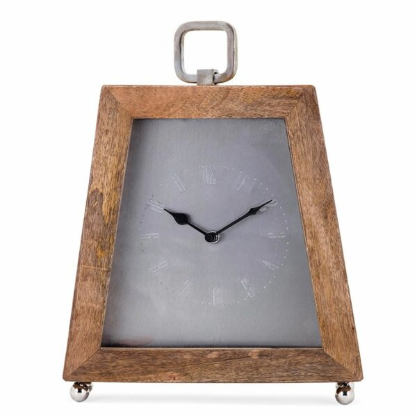 Geometric Design Table Clock by Foundry Select