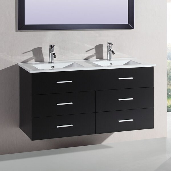 Juniper 48 Double Vanity Set by Orren Ellis