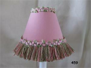 Pretty Flower Garden 11 Fabric Empire Lamp Shade by Silly Bear Lighting