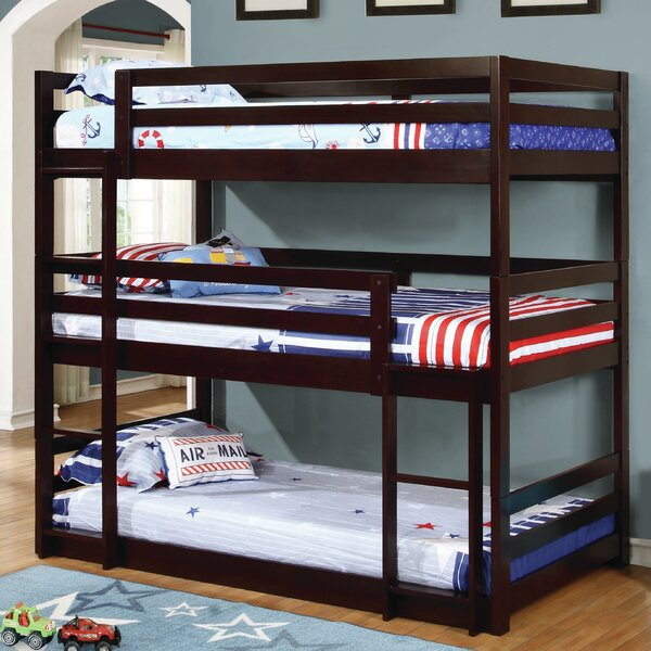 Isaac Twin over Twin Triple Bed by Viv + Rae