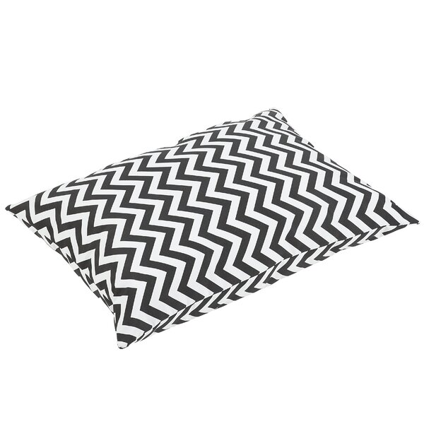 Altieri Knife Edge Indoor/Outdoor Floor Pillow by Latitude Run