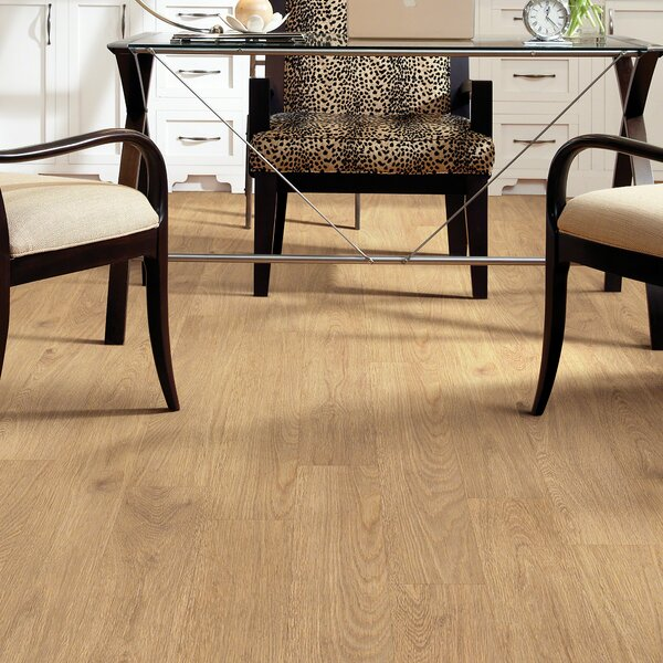 Retreat 20 6 x 36 x 2.5mm Luxury Vinyl Plank in Totally Tan by Shaw Floors
