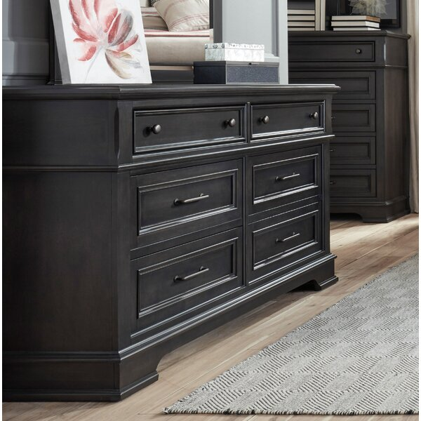 Earley 6 Drawer Double Dresser by Darby Home Co