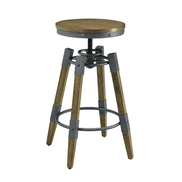 Rustic Adjustable Bar Stool by Scott Living