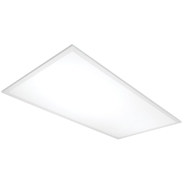 48 Watt Flat Panel Led Semi Flush Mount By Nuvo Lighting.