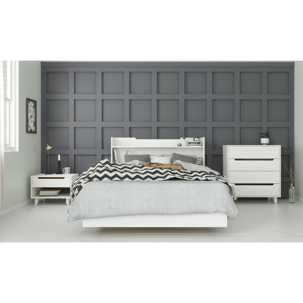 Shona Platform 4 Piece Bedroom Set by Ebern Designs