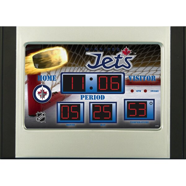 NHL Scoreboard Desk Clocks by Team Sports America