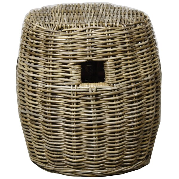 Frailey Drum Stool by Highland Dunes