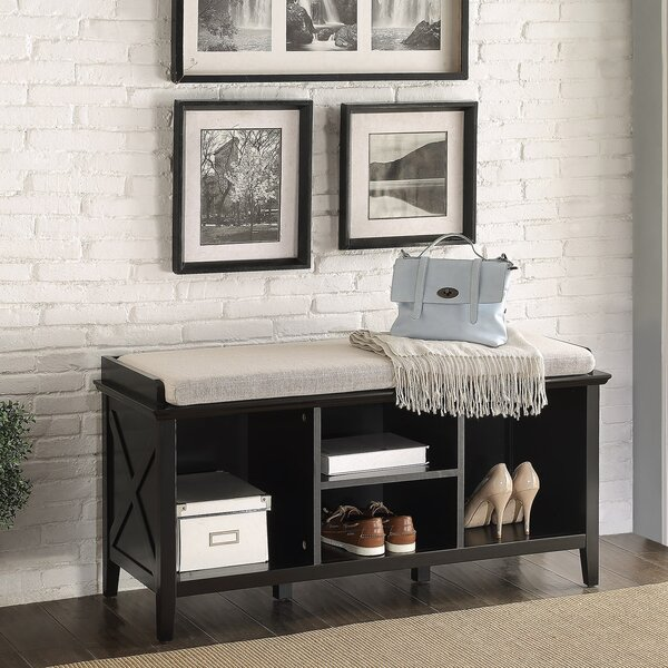 Callie Wood Storage Bench by Homestyle Collection