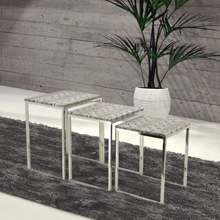 3 Piece Nesting Tables by Empire Art Direct SKU:CD745764 Details