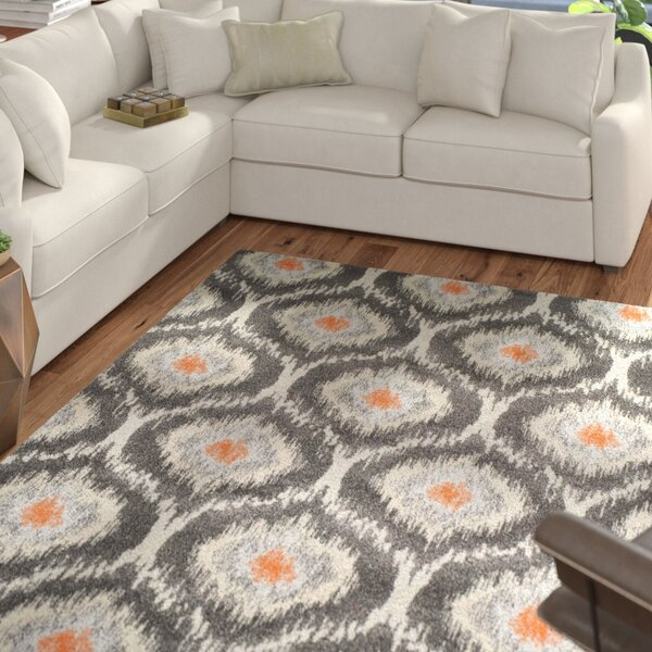 Bracero Pewter Area Rug by Mercury Row