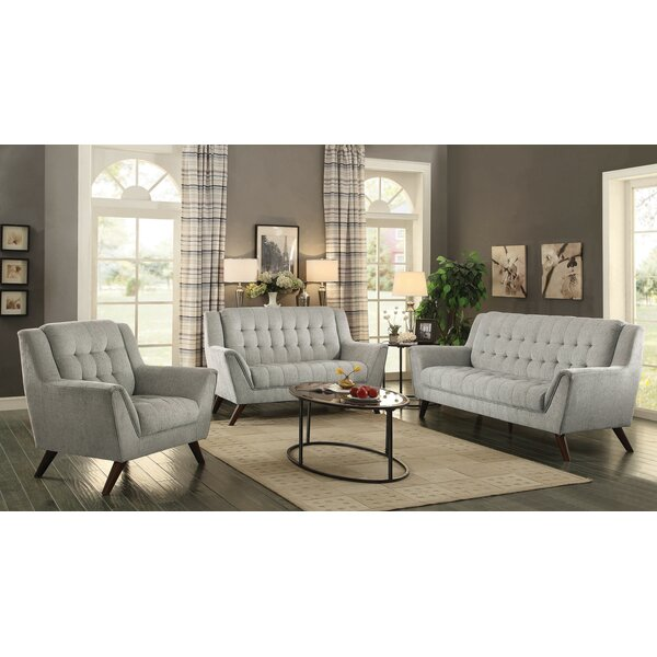 Frances 3 Piece Living Room Set by Brayden Studio