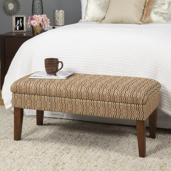 Birkett Decorative One Seat Bench with Storage by Andover Mills