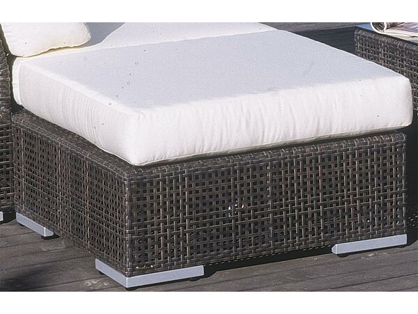 Soho Ottoman with Cushion by Hospitality Rattan