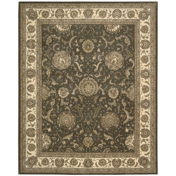 Ellerswick Hand Woven Wool Slate Indoor Area Rug by Darby Home Co