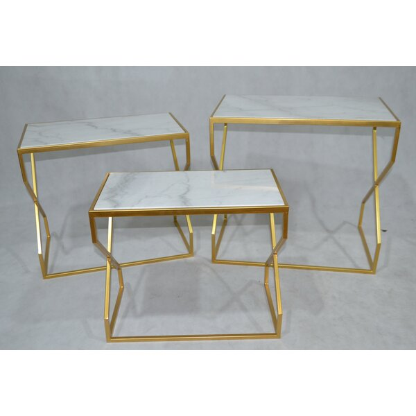Dickinson 3 Piece Nesting Tables by Mercer41