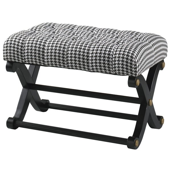 Windsor Upholstered Bench by Reual James