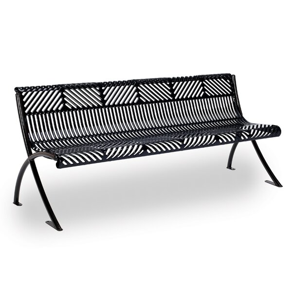 Reflections Steel Park Bench by Anova