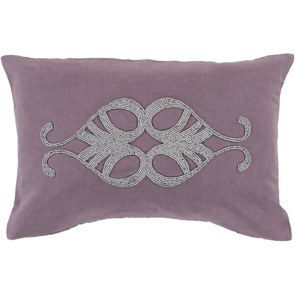 Ashington Beaded Lumbar Pillow by House of Hampton