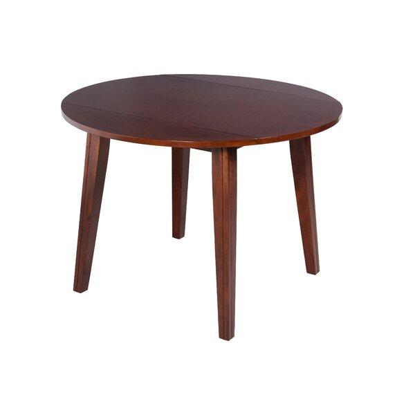 Caroline Drop Leaf Soilid Wood Dining Table by TTP Furnish