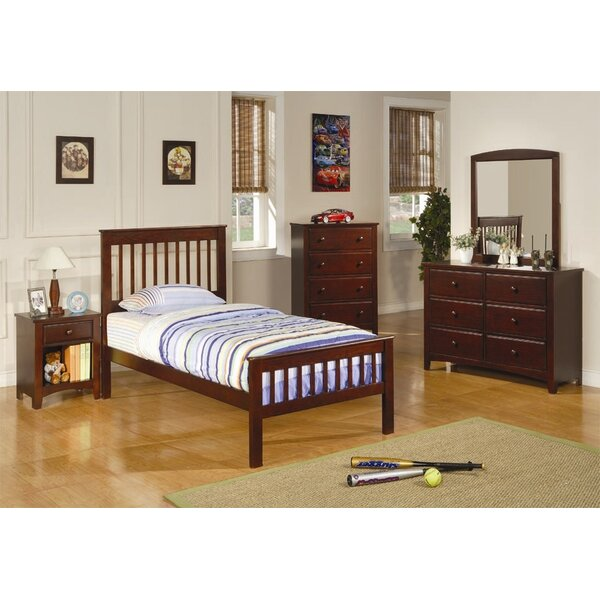 Perry Twin Slat Bed by Wildon Home®