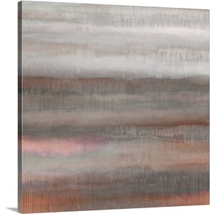 'Dripscape 07 3' by Cora Niele Painting Print on Wrapped Canvas by Great Big Canvas
