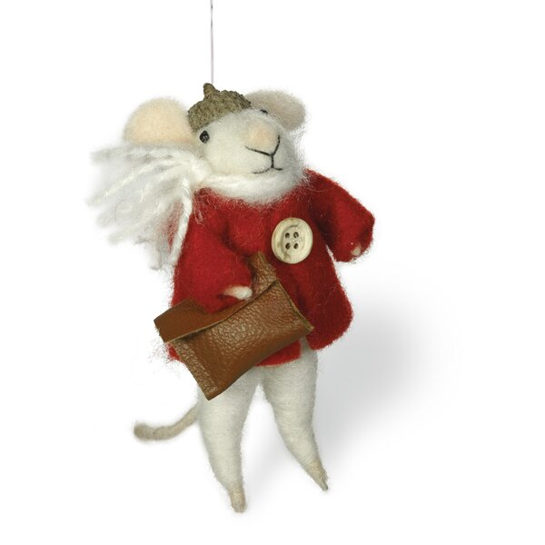 Morris Mouse Ornament by The Holiday Aisle